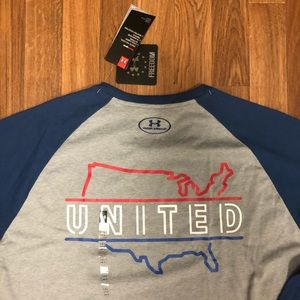🇺🇸 NWT Under Armour United States of America Tee